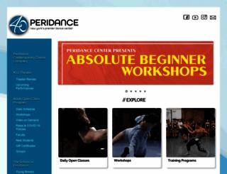 peridance.com screenshot