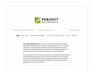 peridotcapitalist.com screenshot