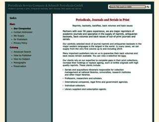 periodicals.com screenshot