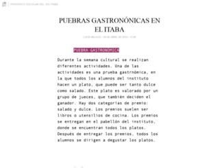 periodico-itaba.blogia.com screenshot