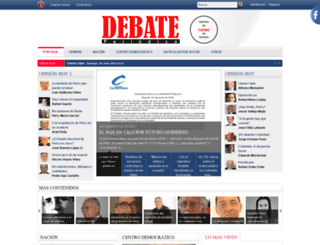 periodicodebate.com screenshot