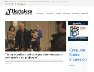periodicohortaleza.org screenshot