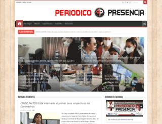 periodicopresencia.com.ar screenshot