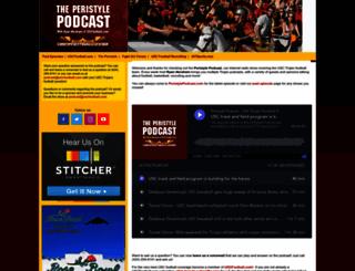 peristylepodcast.com screenshot