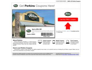 perkins.couponrocker.com screenshot