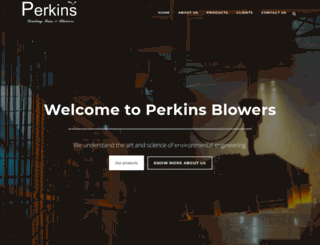perkinsblowers.co screenshot