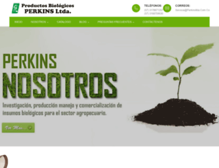 perkinsltda.com.co screenshot