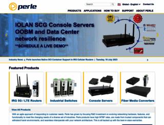 perle.com screenshot