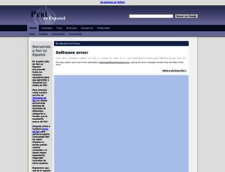 perlenespanol.com screenshot