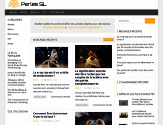perles-sl.com screenshot