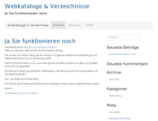 permanentlistings.com screenshot