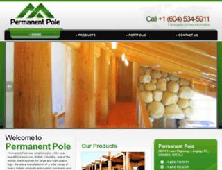 permanentpole.com screenshot