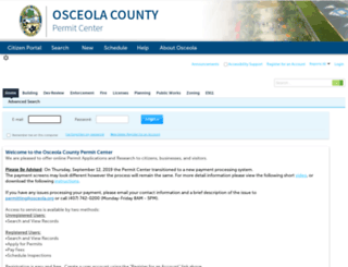 permits.osceola.org screenshot