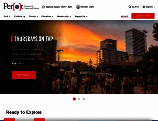 perotmuseum.org screenshot