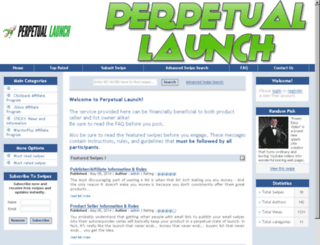 perpetuallaunch.com screenshot