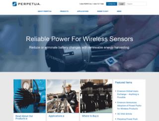 perpetuapower.com screenshot