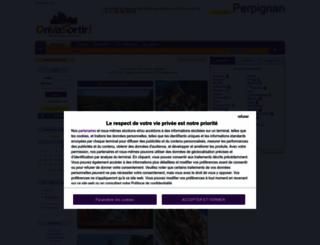 perpignan.onvasortir.com screenshot
