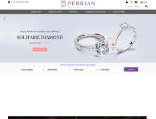 perrian.com screenshot
