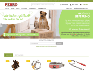 perro-petfood.com screenshot