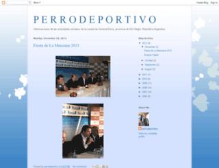 perrodeportivo.blogspot.com screenshot