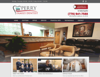 perryfamilydentist.com screenshot
