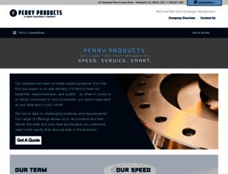 perryproducts.com screenshot