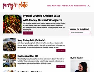 perrysplate.com screenshot