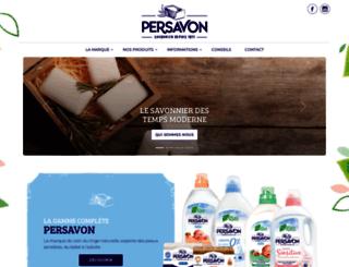 persavon.com screenshot