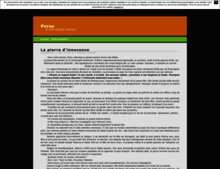 perse.unblog.fr screenshot