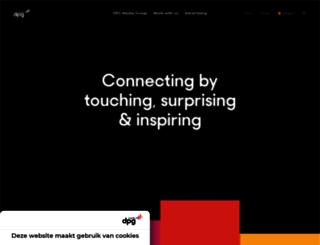 persgroepadvertising.nl screenshot