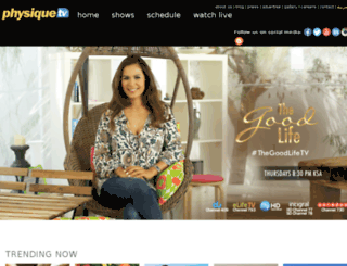 persia.physique-tv.com screenshot