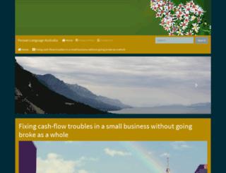 persian-language.org screenshot