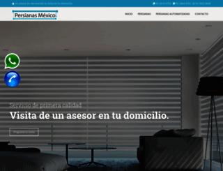 persianasmexico.com.mx screenshot