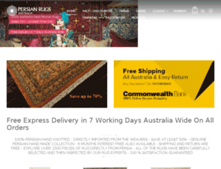 persianrugsaustralia.com.au screenshot
