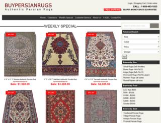 persianrugscenter.com screenshot