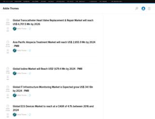 persistencemarketresearch.kinja.com screenshot