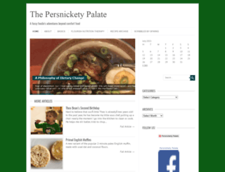 persnicketypalate.com screenshot