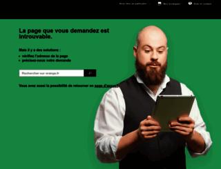 perso.orange.fr screenshot