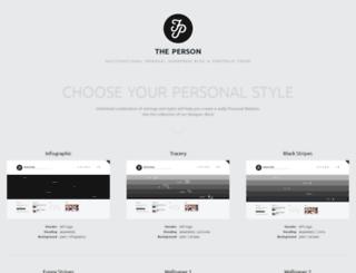 person.themerex.net screenshot