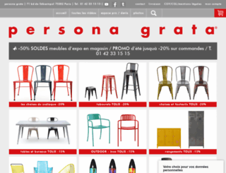 persona-grata.com screenshot