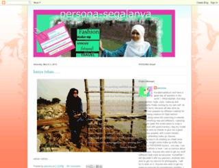 persona-segalanya.blogspot.com screenshot