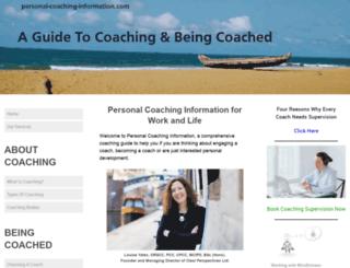 personal-coaching-information.com screenshot