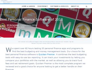 personal-finance-software-review.toptenreviews.com screenshot