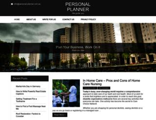personal-planner.com.au screenshot
