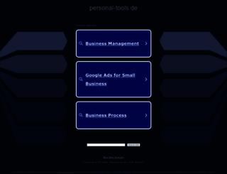 personal-tools.de screenshot