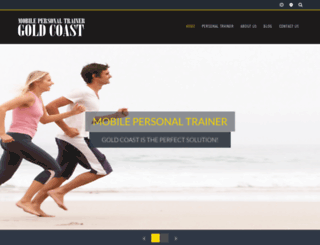 personal-trainer-gold-coast.com.au screenshot