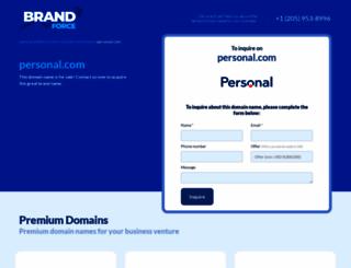personal.com screenshot