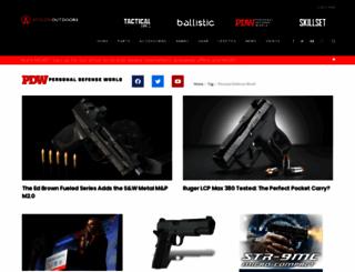 personaldefenseworld.com screenshot