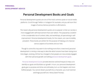 personaldevelopment123.net screenshot