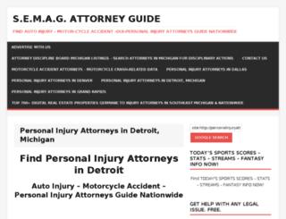 personalinjuryattorneysindetroit.com screenshot